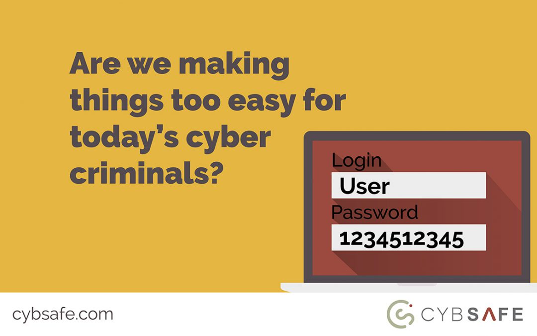 3 common causes of cyber attacks that show we're making things too easy for today's cyber criminals