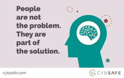 People are not the problem. They are part of the solution.