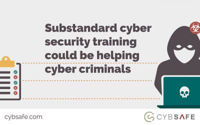 Substandard cyber security training could be helping cyber criminals