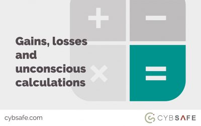 Gains, losses and unconscious calculations