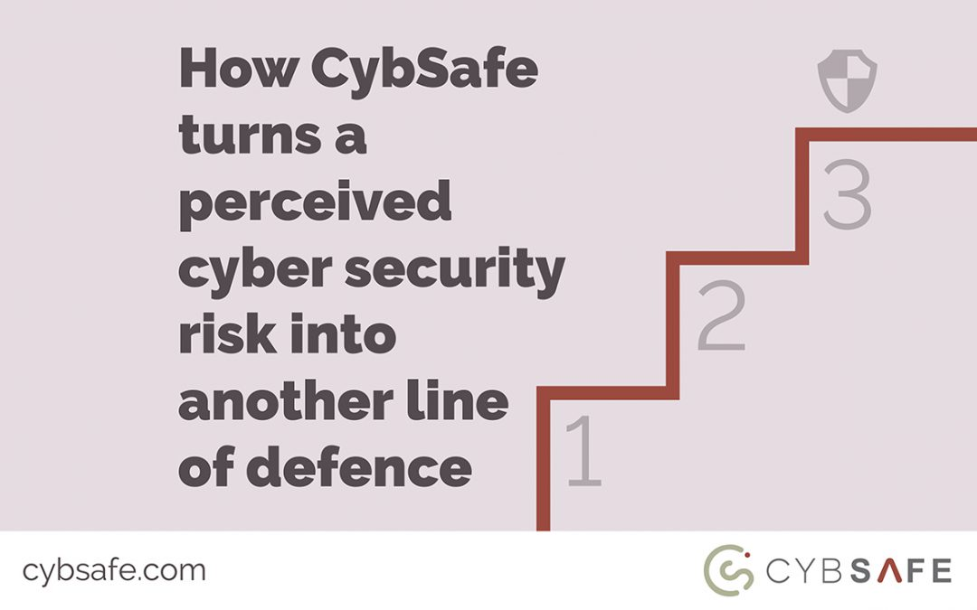 How CybSafe turns a perceived cyber security risk into another line of defence Blog post image