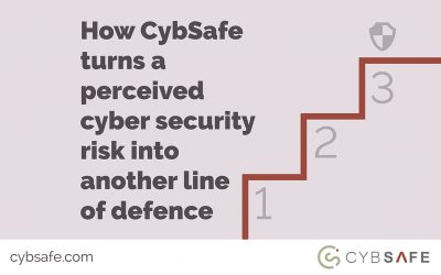 How CybSafe turns a perceived cyber security risk into another line of defence