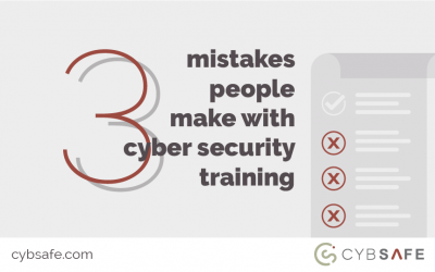 3 mistakes people make with cyber security training