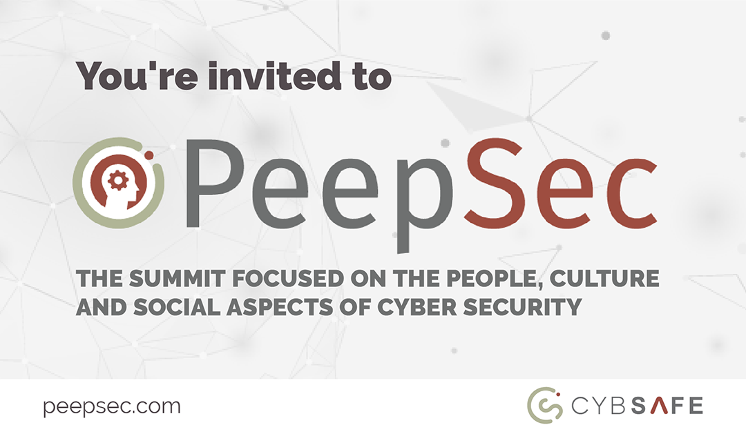 Free virtual summit on the people, culture and social aspects of cyber security