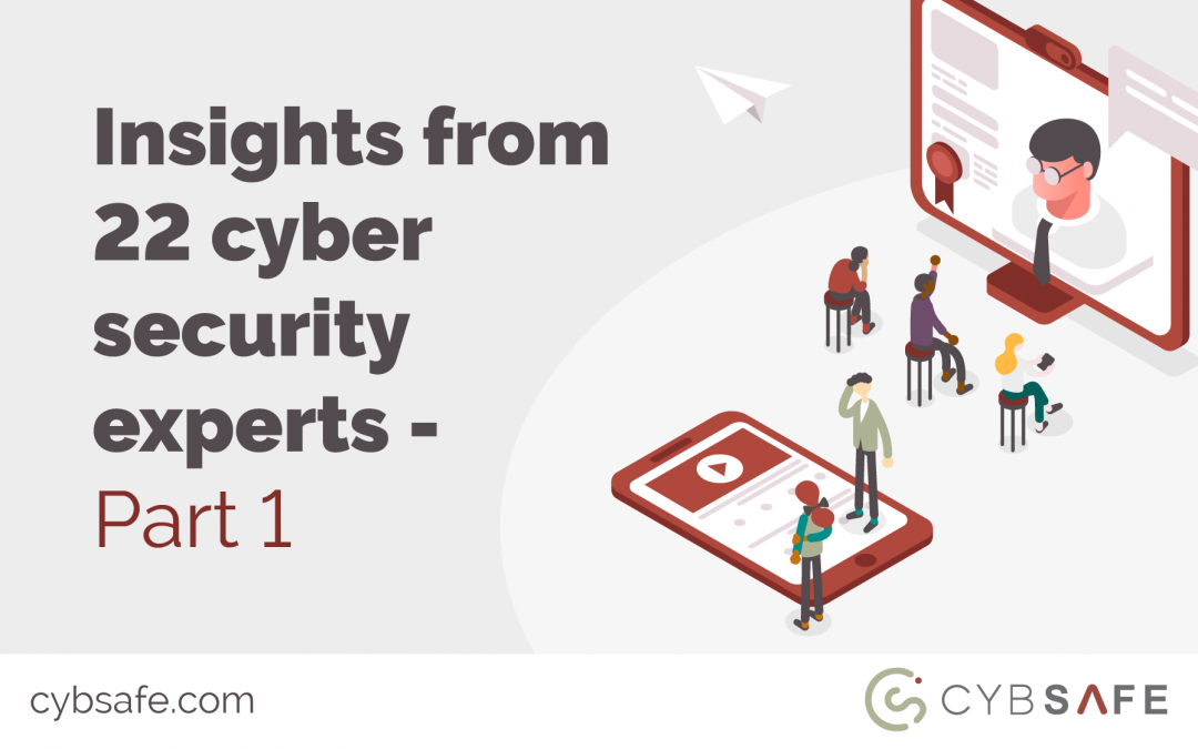 Insights from 22 cyber security experts – part 1