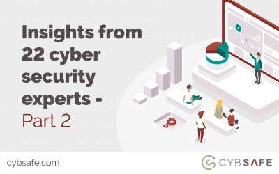 Insights from 22 cyber security experts – part 2