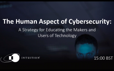 Intuition Webinar: The Human Aspect of Cybersecurity