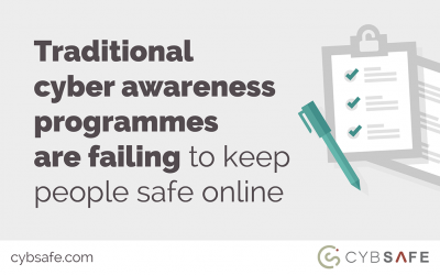 Traditional cyber awareness programmes are failing to keep people safe online