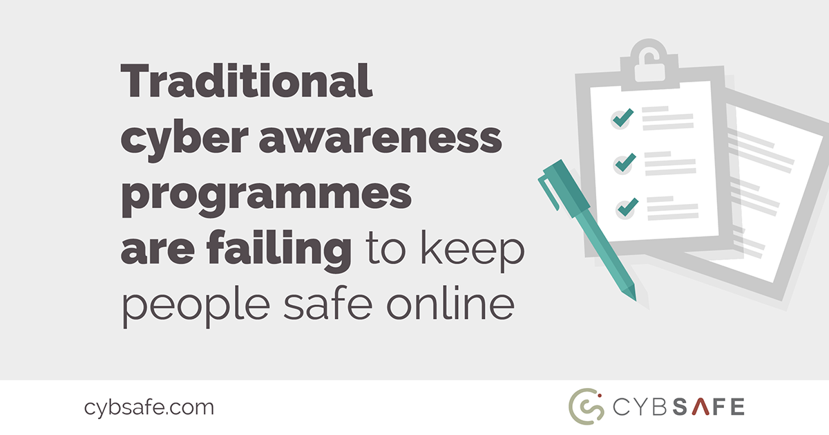 traditional cyber awareness programmes blog image