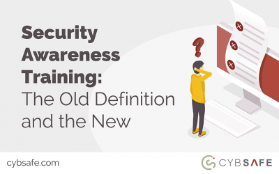 Security Awareness Training: The Old Definition and the New