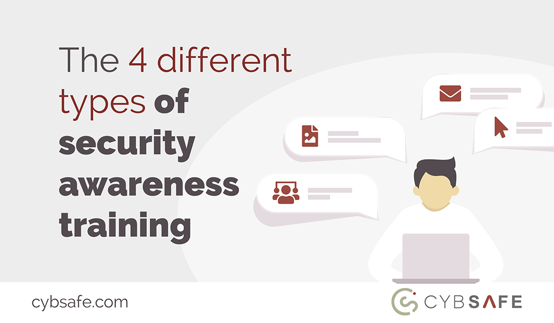 different types of security awareness training blog image