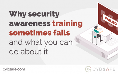 Why security awareness training sometimes fails – and what you can do about it