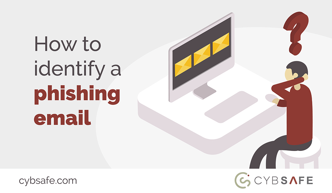 How to identify a phishing email