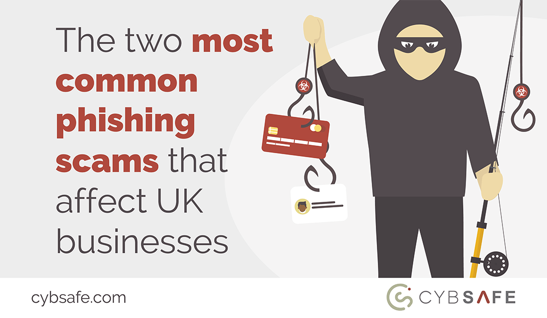 Blog image for The two most common Phishing scams that affect UK business