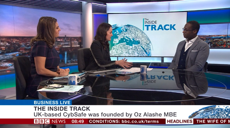 Oz Alashe Appearing on BBC Business Live – Inside Track