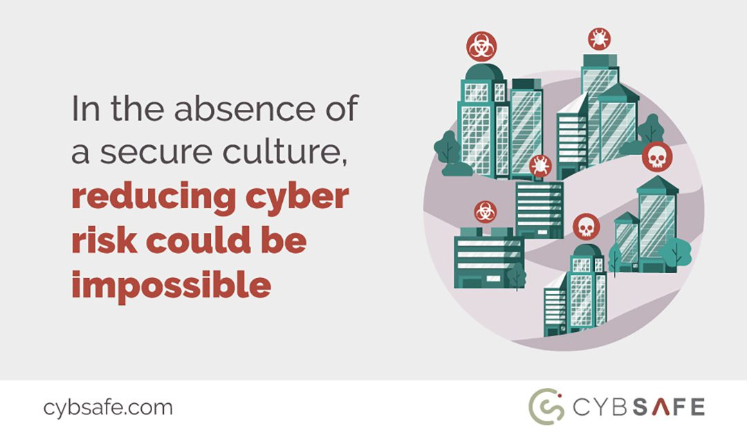 In the absence of a secure culture, reducing cyber risk could be impossible