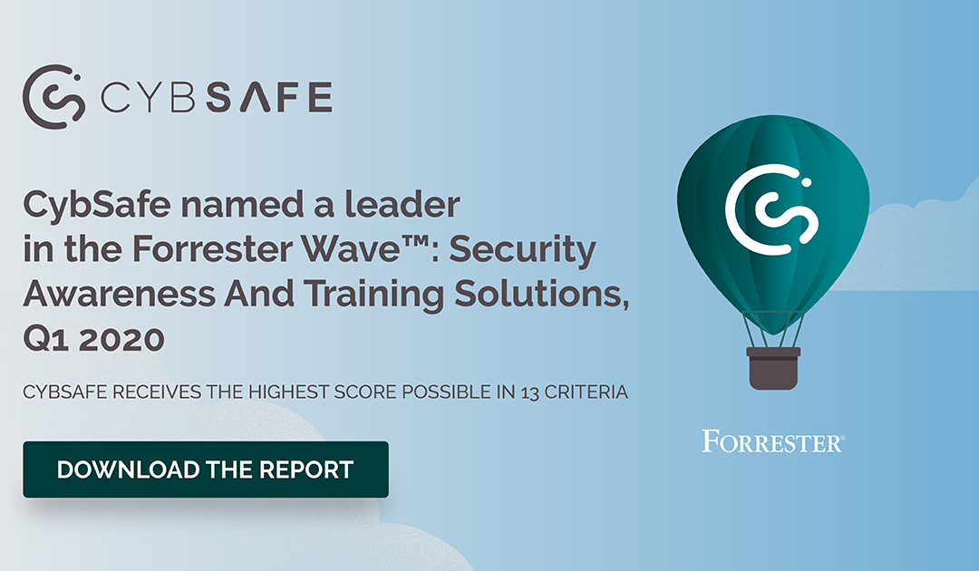 CybSafe named a leader in The Forrester Wave™