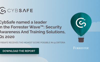 CybSafe named a leader in The Forrester Wave™