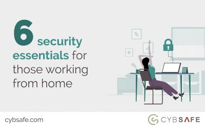 Six security essentials for those working from home