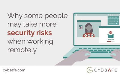 Why some people may take more security risks when working remotely