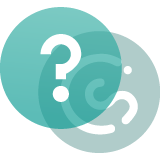 A question mark and the CybSafe logo