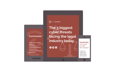 E-book: The 3 biggest cyber threats facing the legal industry today