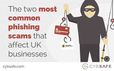 The two most common phishing scams that affect UK businesses
